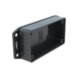 Enclosure: multipurpose, X:50mm, Y:100mm, Z:21mm, 1591, ABS, black