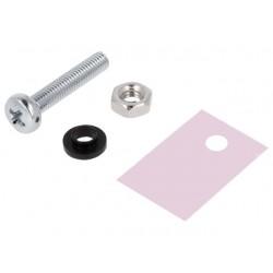 Kit Isolador para transistores TO220