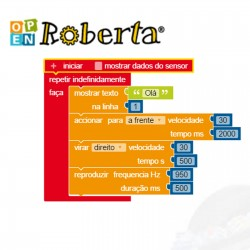 Bot n Roll ONE A - Program with Open Roberta