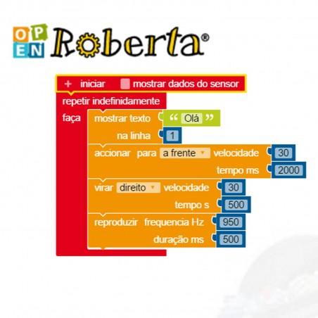 Bot n Roll ONE A - Programar com Open Roberta