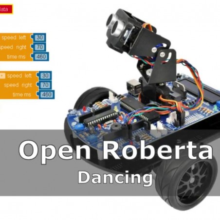 Tutorial Bot´n Roll ONE A - Open Roberta Dancing Robot