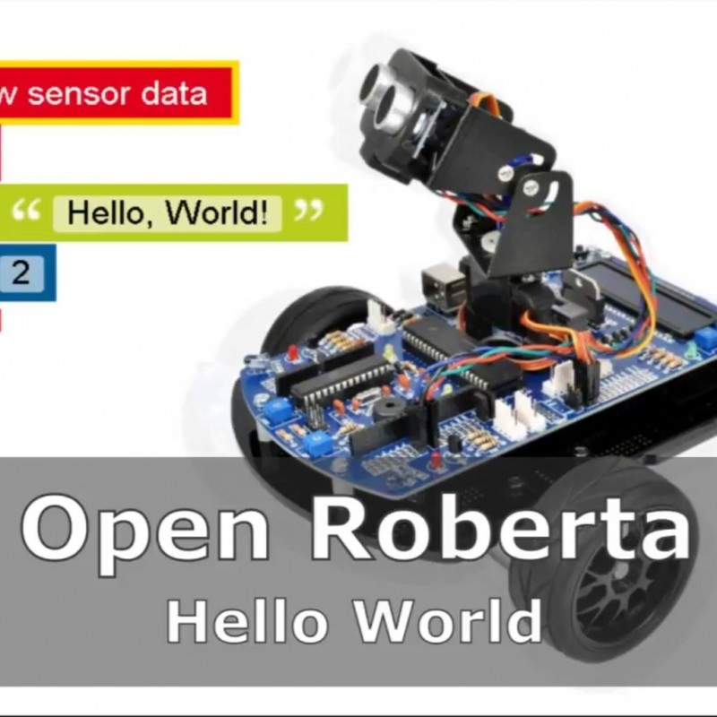 Tutorial Bot´n Roll ONE A - Open Roberta Hello World