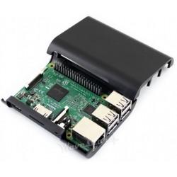 Caixa J para Raspberry Pi B+, 2 e 3 - Preto