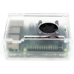 Caixa c/ Ventoinha p/ Raspberry Pi 3/2/B