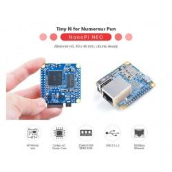 NanoPi Neo - 512MB QuadCore Allwinner H3 Quadcore A7 1,2ghz