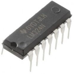 LM324 - Amplificador Operacional Quadruplo