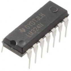 LM324 - Quad Operational Amplifier
