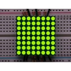 "Matriz de LED 8x8 1.2"" Amarelo-Verde alto brilho - KWM-30881CUGB"
