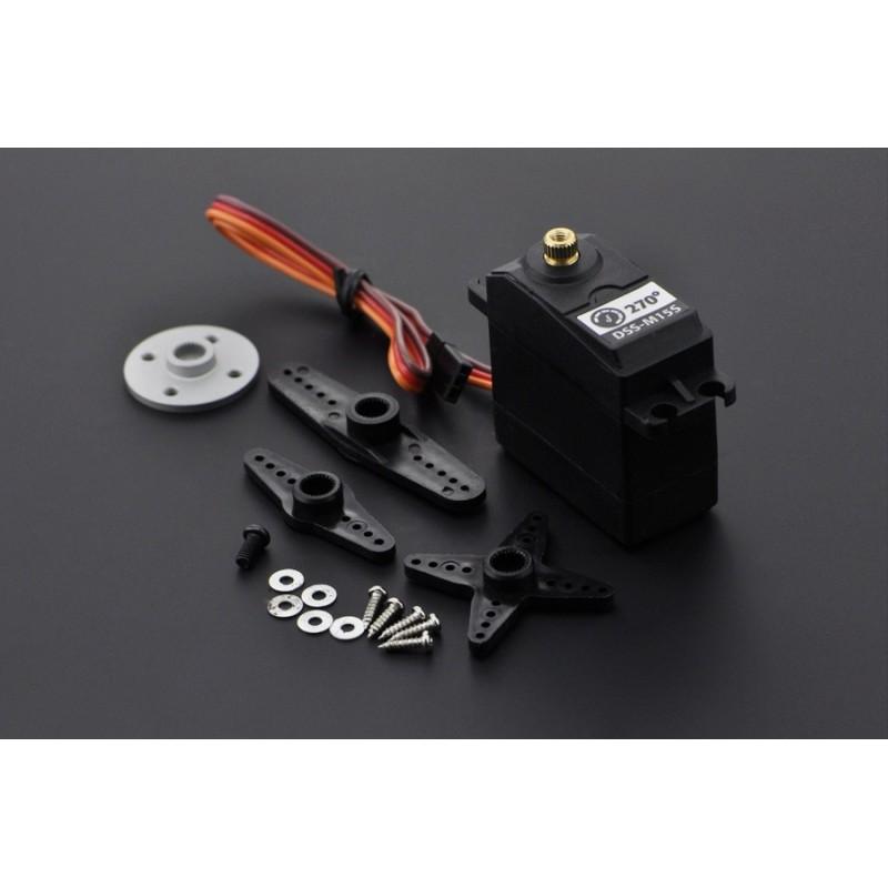Servo standard 15Kg 270º c/ engrenagens metálicas (DSS-M15S)