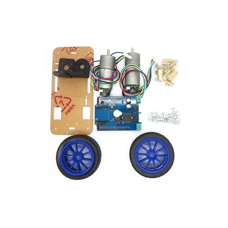 2 Wheel Self-Balancing Upright Rover Car Arduino Robot Starter Kit