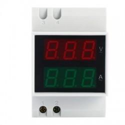 AC Voltmeter Ammeter Power Meter