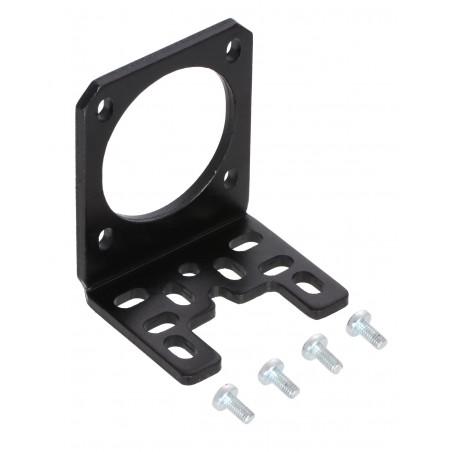 Pololu Stamped Aluminum L-Bracket for NEMA 17 Stepper Motors