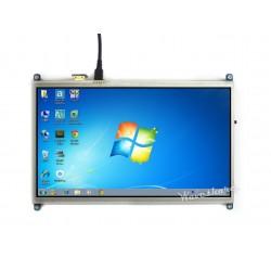 Ecrã tátil resistivo 10.1'' HDMI LCD 1024×600 - Sem moldura