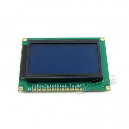 LCD12864-ST (3.3V Luz fundo AZUL)