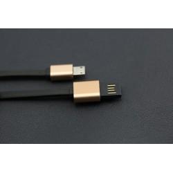 Cabo USB A p/ micro B c/ contactos duplos