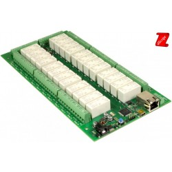 dS2824 - 24 x 16A Relé Ethernet