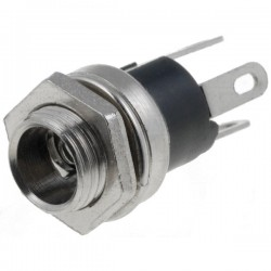 Socket DC supply male 5.5mm 2.1mm
