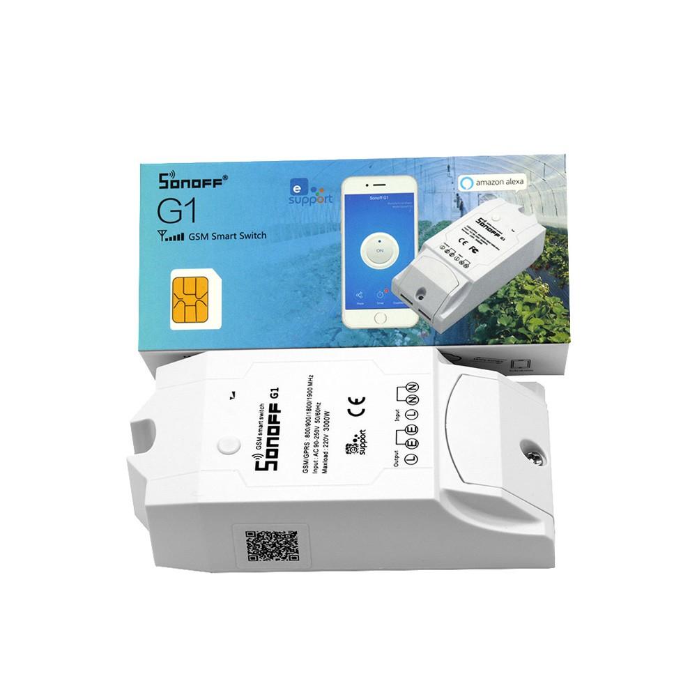 Sonoff G1: GPRS/GSM Remote Power Smart Switch - botnroll com