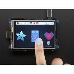 "PiTFT Plus 480x320 3.5"" TFT+Touchscreen para Raspberry Pi"
