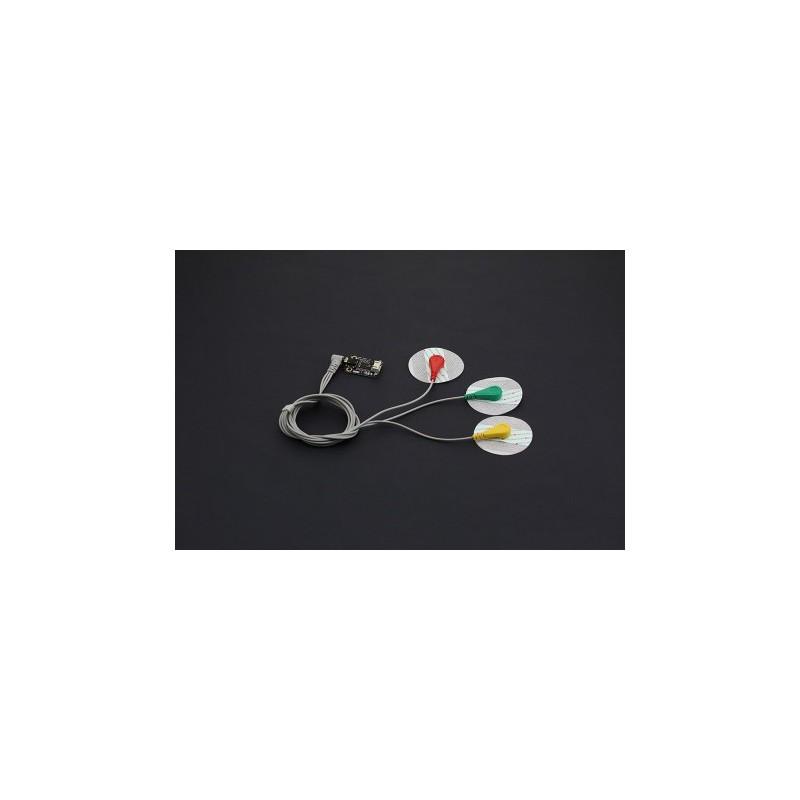 Gravity: Analog Heart Rate Monitor Sensor (ECG) For Arduino