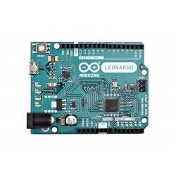 Arduino Leonardo com conectores