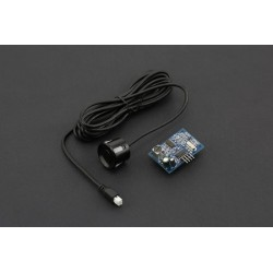 Sensor ultrasons de 25cm a 4.5m à prova de água com cabo 2.5m