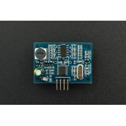 Sensor ultrasons de 25cm a 4.5m com capsula resistente