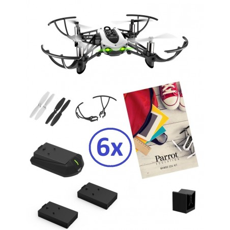 Pack Parrot Educacao 6 Drones MAMBO BASIC