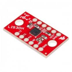 Acelerómetro LIS3DH 3 eixos com comunicação SPI ou i2c - Sparkfun