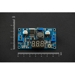 20W Adjustable DC-DC Buck Converter with Digital Display