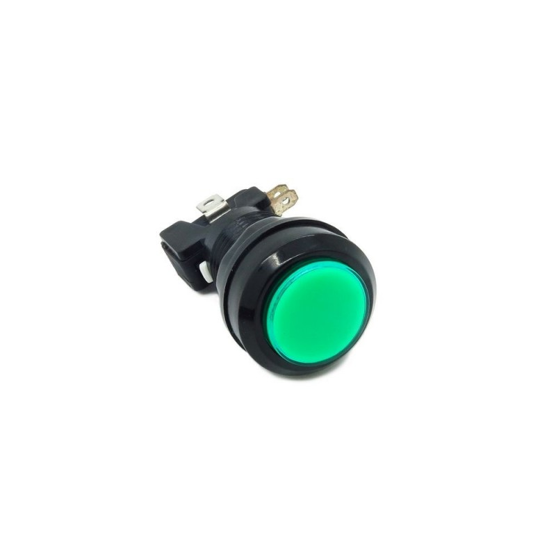Botão de Pressão redondo ARCADE 33mm - c/ Iluminação 12V