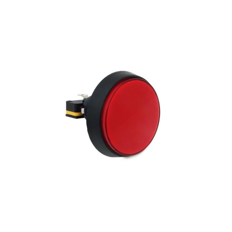 Botão de Pressão ARCADE 60mm - c/ Iluminação 12V