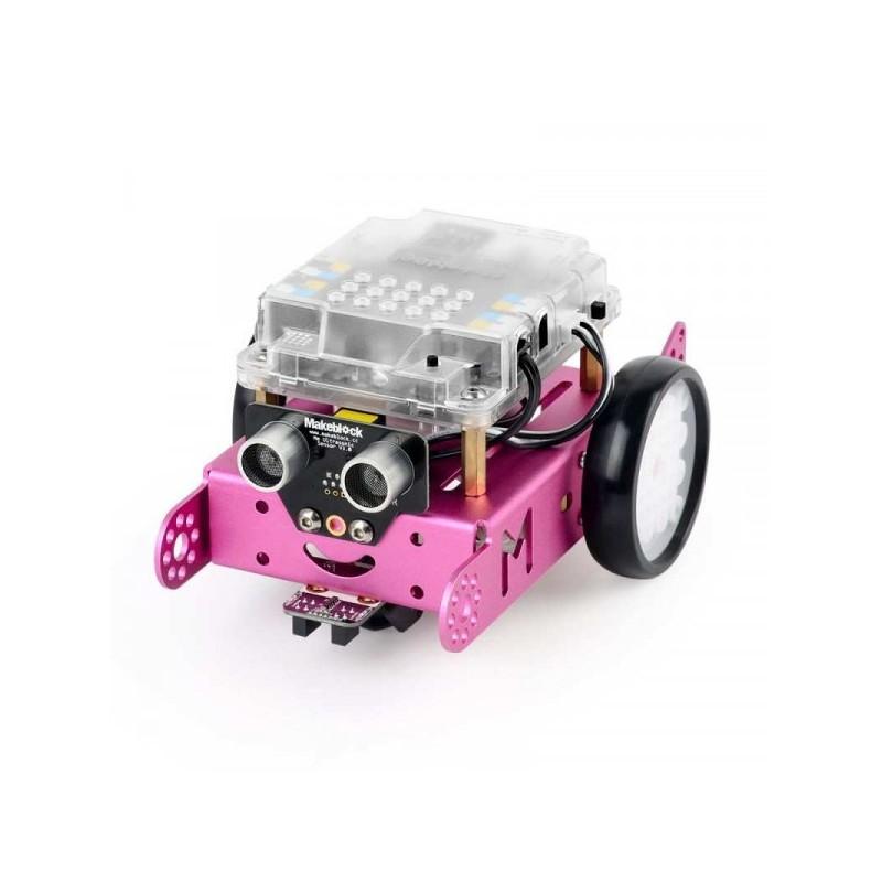 Robô mBot v1.1- Rosa (versão Bluetooth)