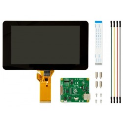 "Official Raspberry Pi 7"" Touch Screen Display with 10 Finger Capacitive Touch"