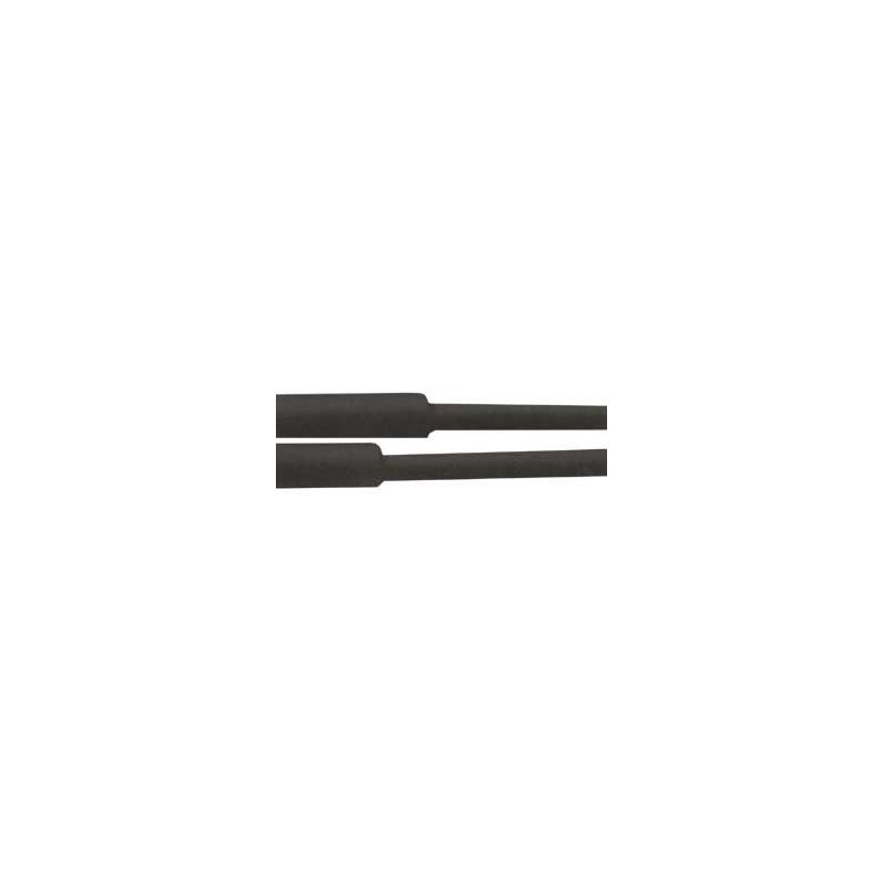 Heat shrinkable tubing 8.0 / 4.00mm - black