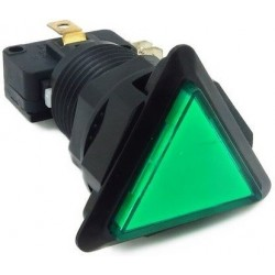Green Triangle Push Button...