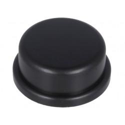 Botões de Pressão tecla preta