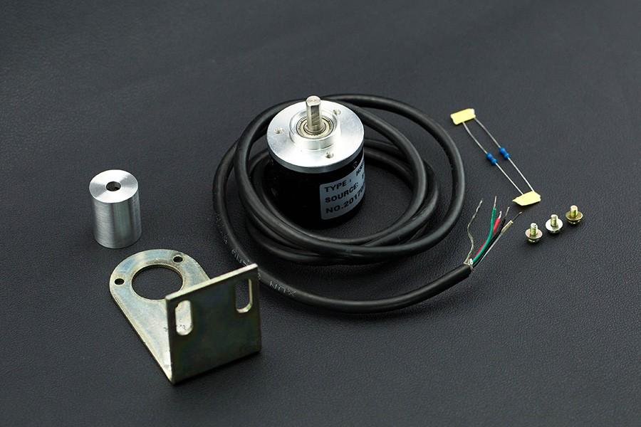 Incremental Photoelectric Rotary Encoder - 400P/R - botnroll com