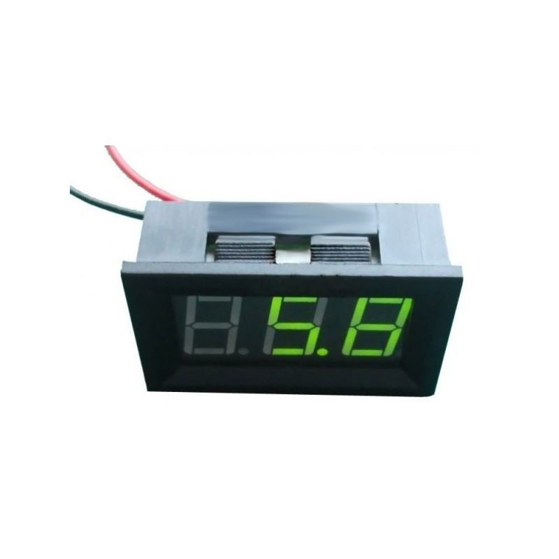 Voltímetro LED - Verde