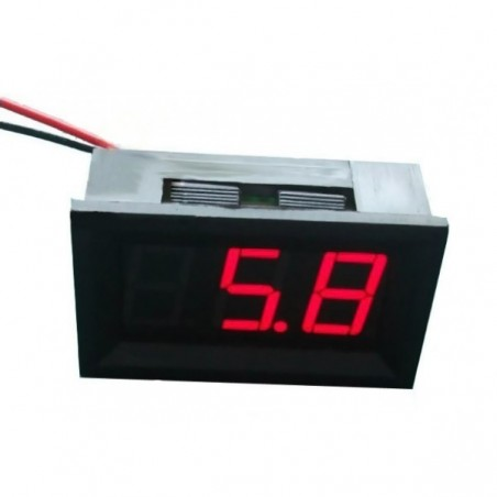 Voltímetro LED (Vermelho)