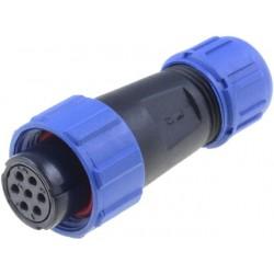 Connector: circular plug...