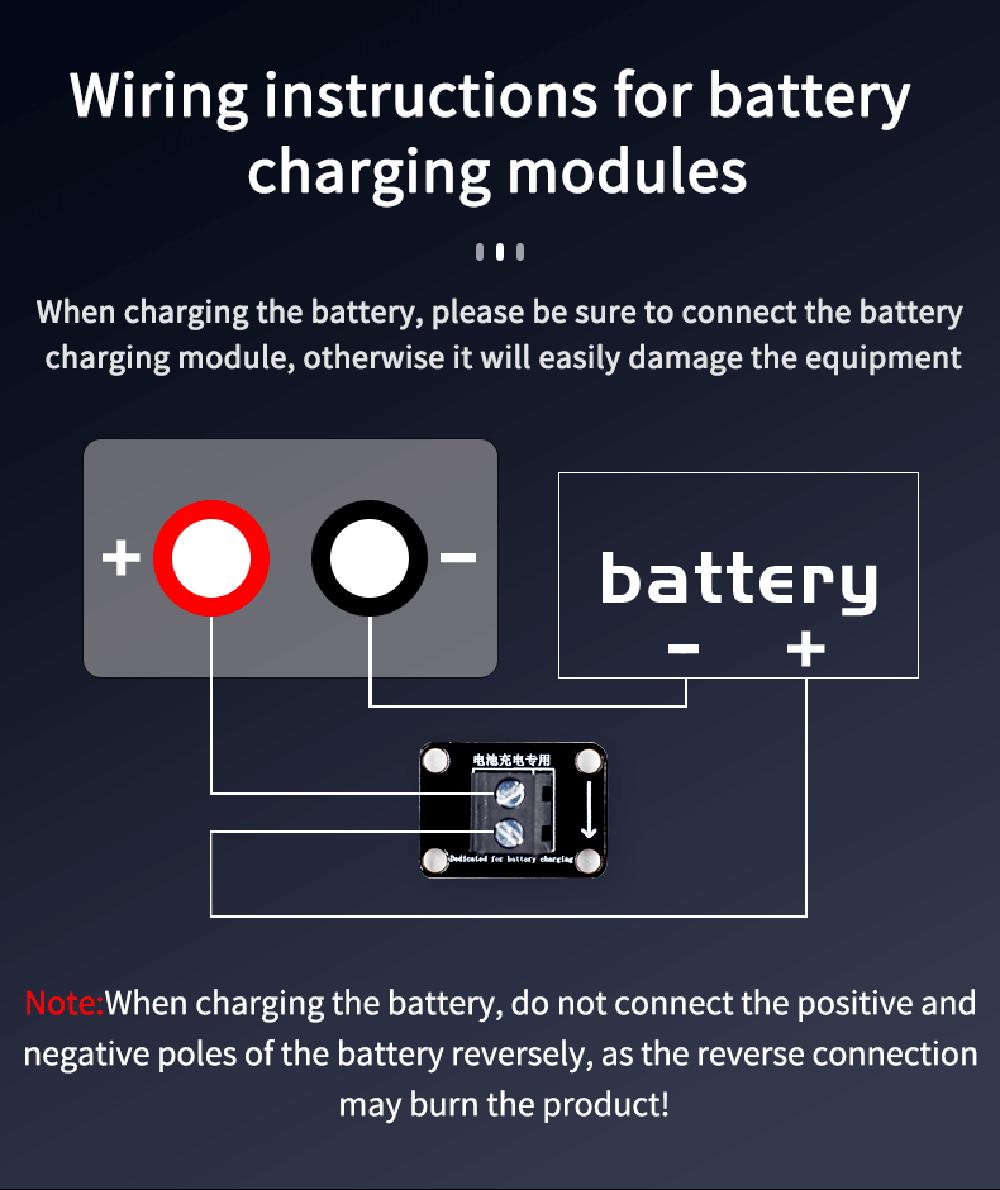 Battery charging warning